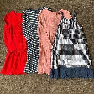 Girls GAP dress bundle size 5